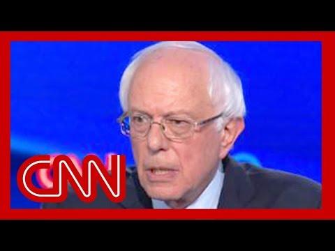 Bernie Sanders begins