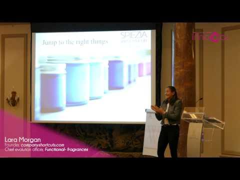 Lara Morgan, Chief evolution officer, Functional- fragrances