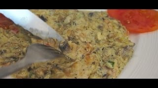 Italian Fried Chicken Breast & Mushroom Cream Sauce In 5 Mins Speed Cooking Recipe