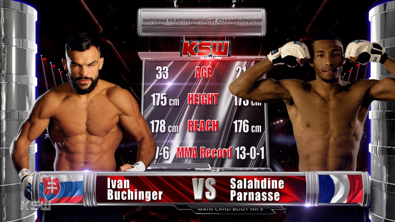 Download KSW Free Fight: Salahdine Parnasse vs Ivan Buchinger | KSW 58