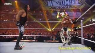 Shawn Michaels Vs. The Undertaker Highlights - HD Wrestemania 26