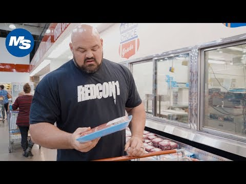 Grocery Shopping with The World's Strongest Man | Brian Shaw's Weekly Grocery Run