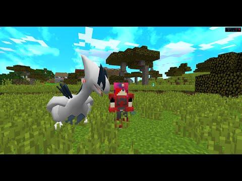 Minecraft Pixelmon ตอนที่ 13 : ตามจับลูเกียกับไคโอกร้า!