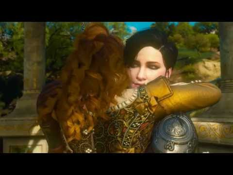 The Witcher 3 Blood and WIne good ending. Anna Henrietta and Syanna live