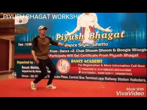 Dance Champions Piyush Bhagat on Dholi Taaro Dhol Baaje || Get Ghetto Workshop