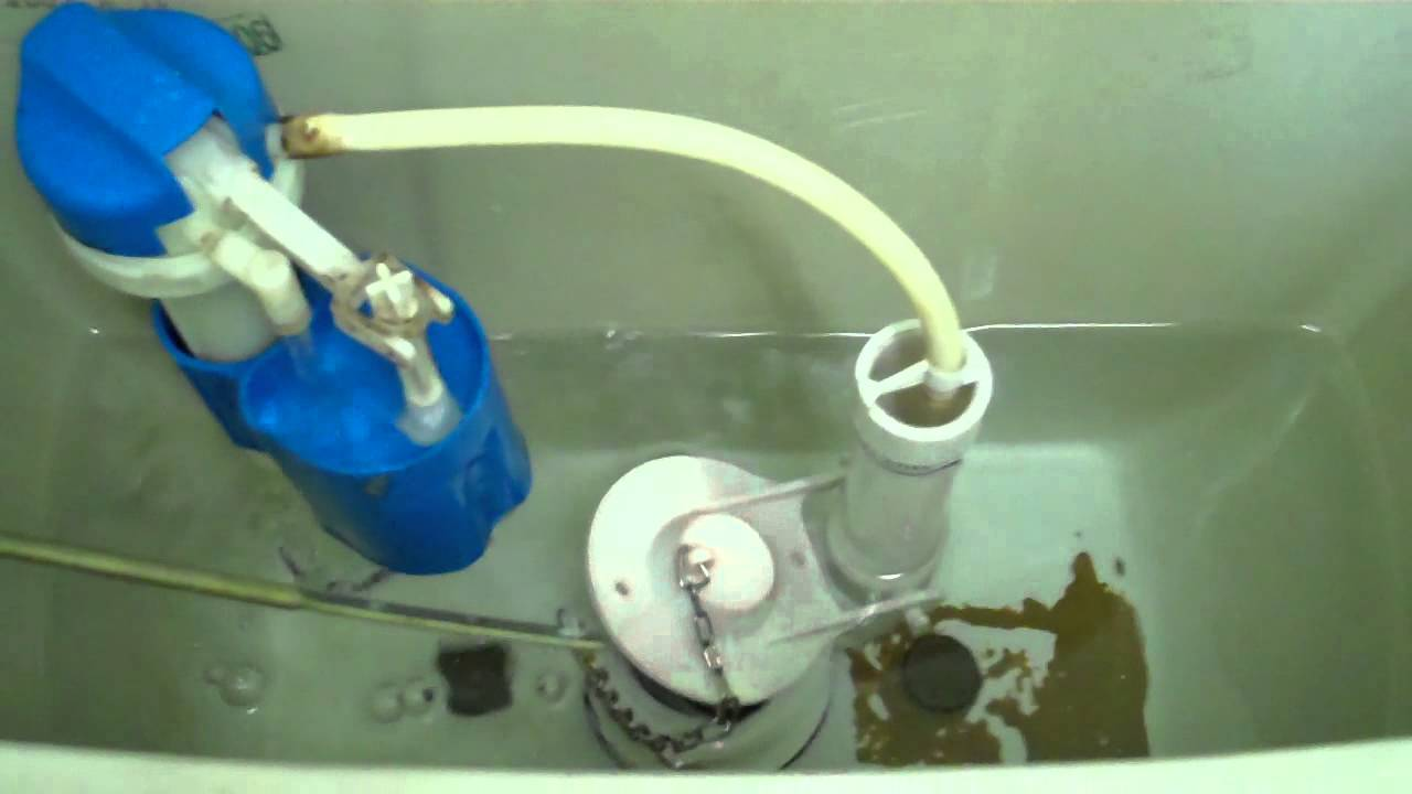 Flushing Mechanism In Toilet Tank