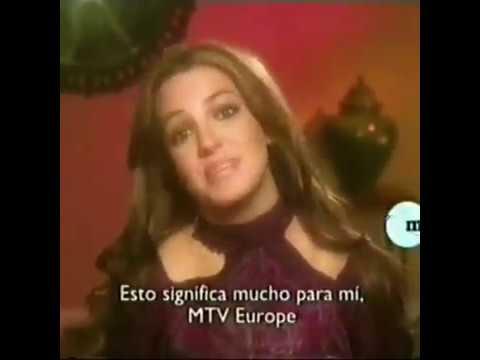 Britney Spears Wins Best Female MTV EUROPE 2004