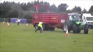 McCulla Transport Artic Challenge @ Truckfest Ireland 2012 ft LIsa Kelly & Deutz-Fahr Tractors