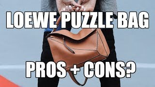 LOEWE PUZZLE BAG REVIEW | SHOULD YOU GET IT?