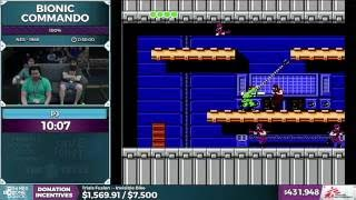 Bionic Commando by PJ in 25:12 - SGDQ 2016 - Part 113