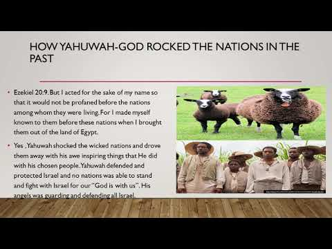 Yahuwah's promise to his true people of Israel