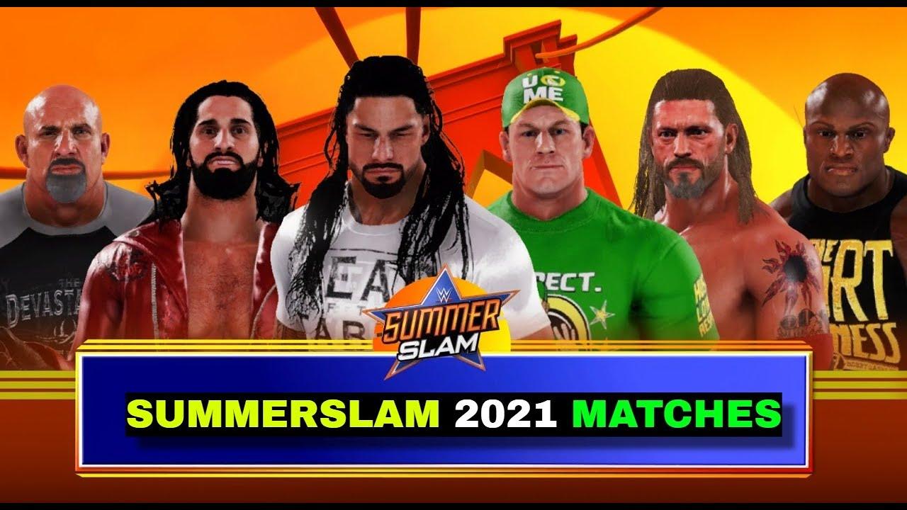 WWE 2K20 On PS5 'Summerslam 2021' Gameplay | WWE 2K20 PS5 Gameplay ||