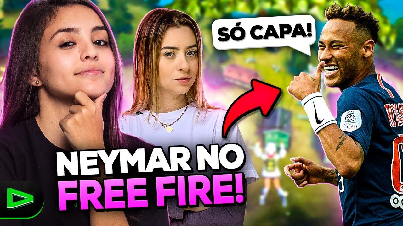 APELÃO?! ENCONTREI O NEYMAR NO FREE FIRE