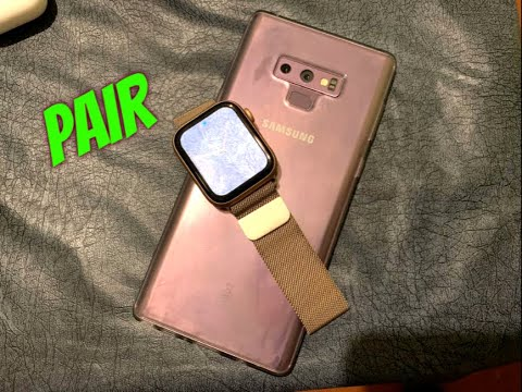 Apple Watch Series 4 Pair With Samsung Note 9 Its Work ?