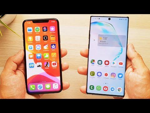 iPhone 11 Pro Max vs Galaxy Note 10 Plus, ¡COMPARATIVA DEFINITIVA!
