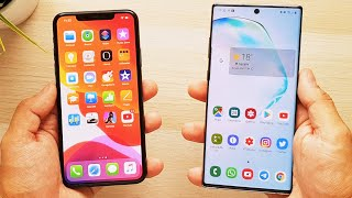 iPhone 11 Pro Max vs Galaxy Note 10 Plus, ¡COMPARATIVA DEFINITIVA!
