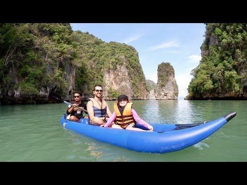 Äventyr i kajak - Thailand VLOGG