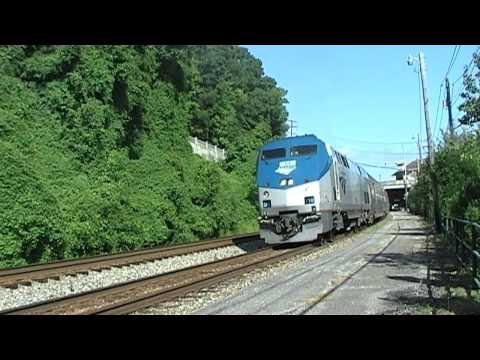 Amtrak Arriving And Departing Charleston, WV