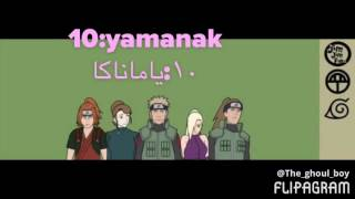 Top 10 Naruto Clans / أقوى عشر قبائل بناروتو