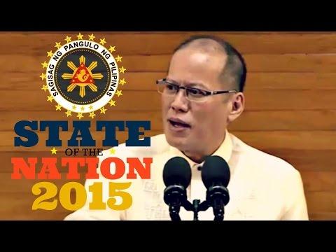 President Aquino's 2015 State of the Nation Address | SONA 2015 (FULL) - 27 July 2015