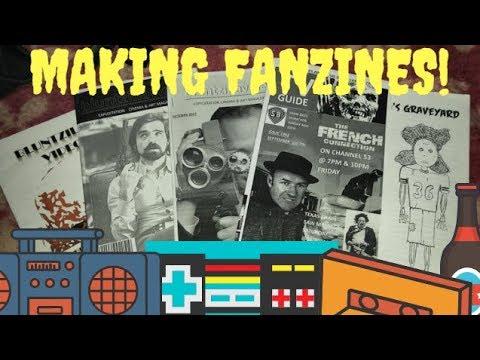 How to make a fanzine!