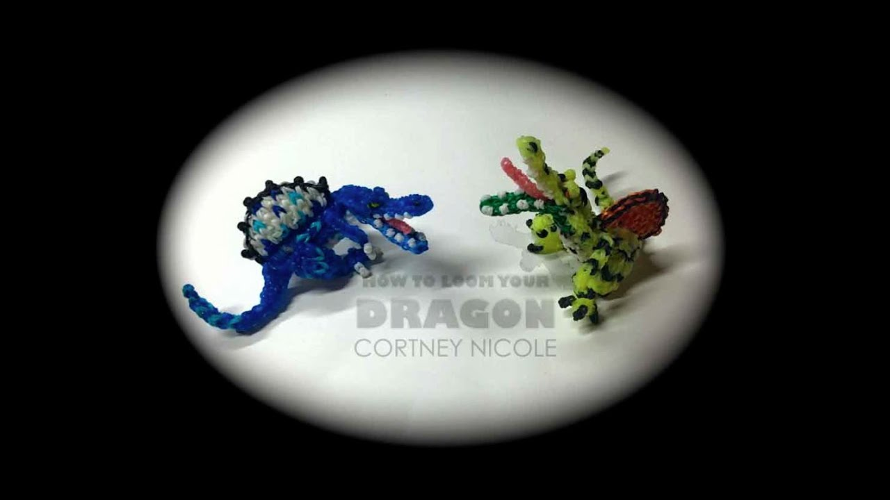 Rainbow Loom Dinosaurs Spinosaurus YouTube