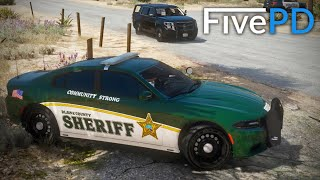 GTA 5 FivePD #9 - Chasing A Race Car! (Dave's Run)