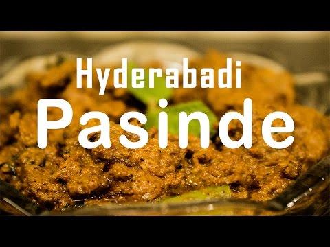 Hyderabadi Pasanday Recipe Mutton - Pasinde  | MairaKitchen | Hyderabad Cuisine | How to cook