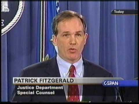 Archive: Patrick Fitzgerald CIA Leak Press Conference pt 2
