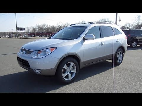 2011 Hyundai Veracruz Limited Start Up, Engine, and In Depth Tour