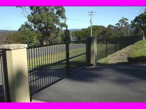 Fence Design Ideas image of decorative metal garden fencing design Metal Fence Design Ideas