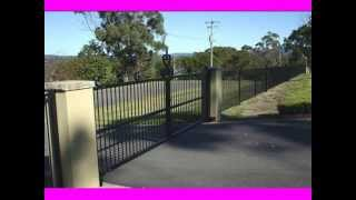 Metal Fence Design Ideas