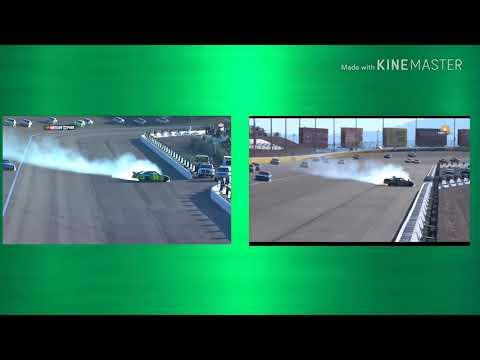 Chase Briscoe × Jeff Gordon Crash Comparison