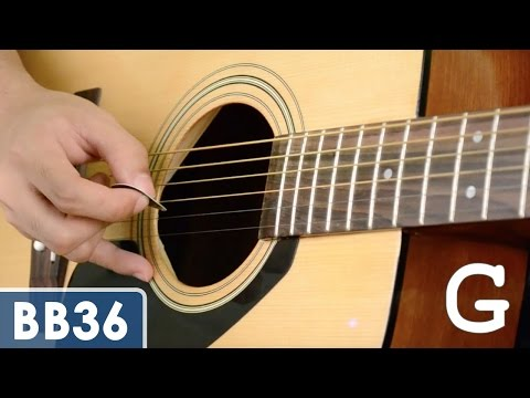 Tune Your Guitar Standard Tuning
