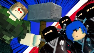 JVNQ x NINJAS DO ROBLOX | FLEE THE FACILITY
