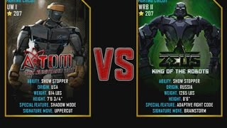 Real Steel WRB Atom VS Zeus champion NEW graphics blows