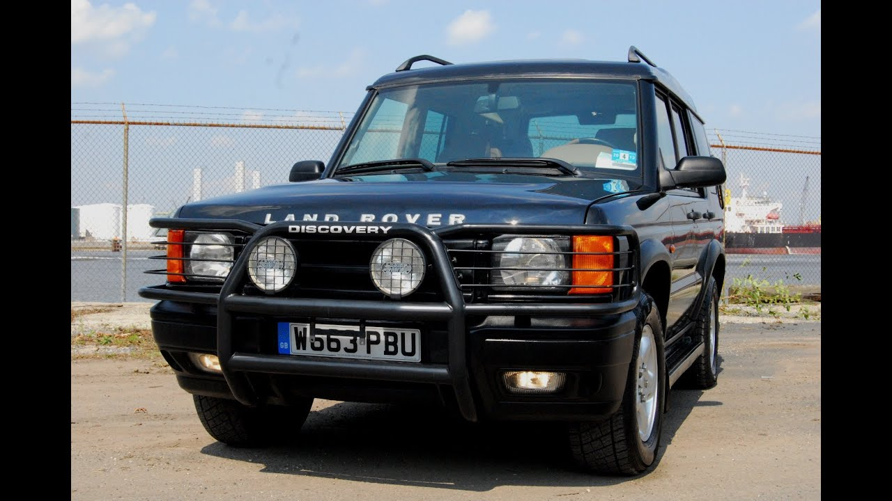 2000 Land Rover Discovery Series Ii V8 Se7 Review  U0026 Test