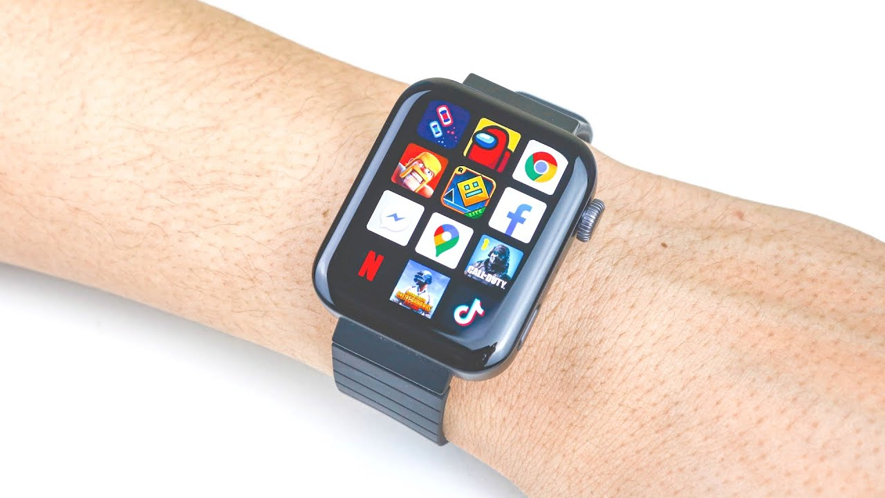 Cheap SmartWatch with Esim - Xiaomi Mi Watch - YouTube