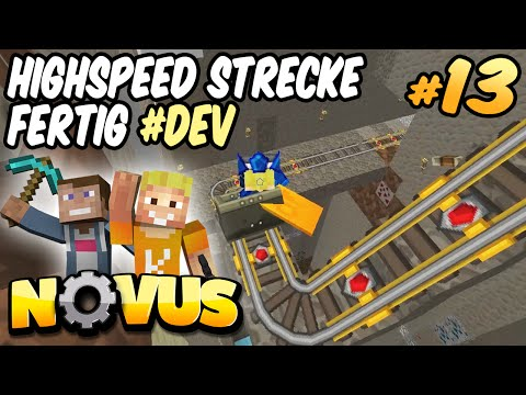 HIGHSPEED STRECKE FERTIG #DEV ★ Minecraft NOVUS #13 ★ LPmitKev