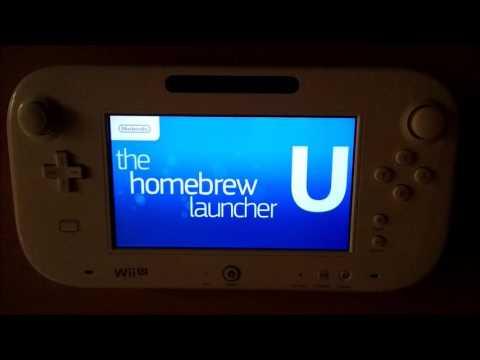 Wii U Permanent Homebrew Channel / Launcher Exploit Tutorial