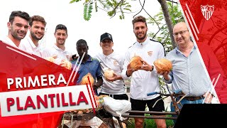 La expedición sevillista continuó conociendo más sobre Tanzania en un paseo por Dar es Salam