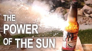 Download Burning Stuff With 2000ºF Solar Power!! Mp3 and Videos
