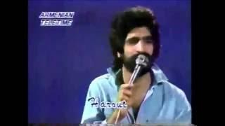 Harout Pamboukjian - Hey Jan Ghapama [1983 Video]