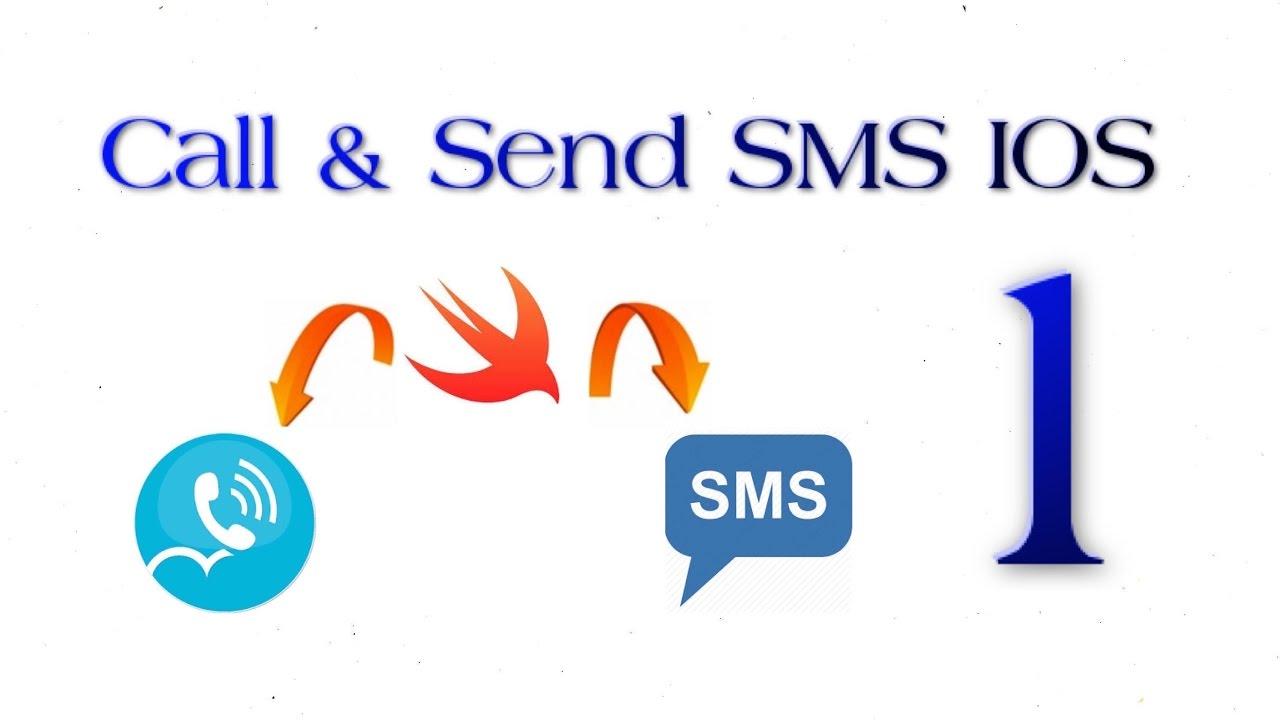 Lập trình iOS – Call & SMS Bài 1: Demo Call and Send SMS