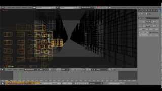 Blender. Модификатор Build