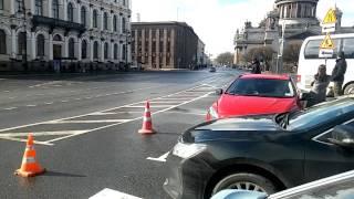 Кортеж Путина в Питере 24.04.2017г.