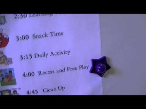 Organize Your Kids Day With Daily Schedule