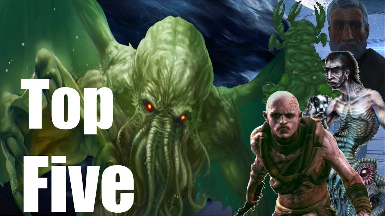 Top Five Lovecraft References in Bethesda Games