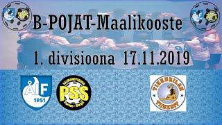 Maalikooste ÅIF/PSS - Tiikerit (B-pojat 1.divisioona 17.11.2019)