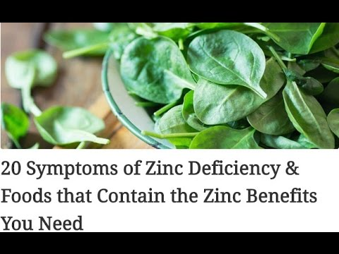 20 Symptoms of Zinc Deficiency & Foods that Contain the Zinc Benefits You Need